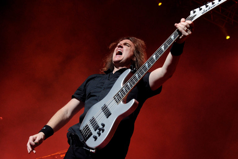 Megadeath David Ellefson