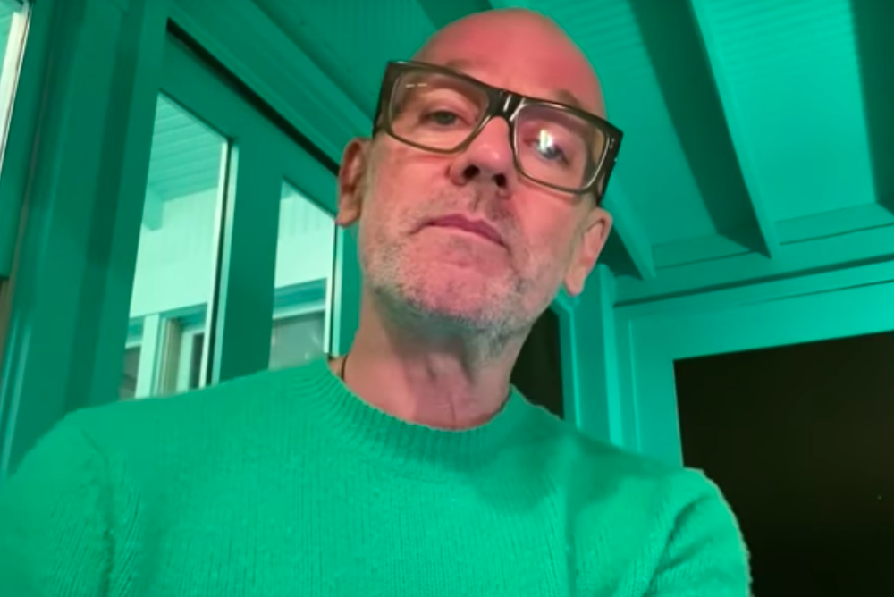 Michael Stipe Late Show