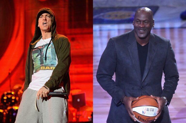 Eminem and Michael Jordan