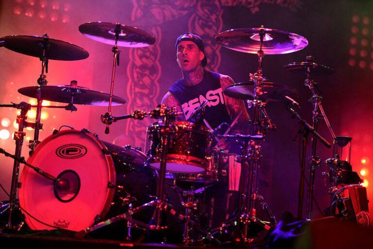Travis Barker drums to Mac Miller