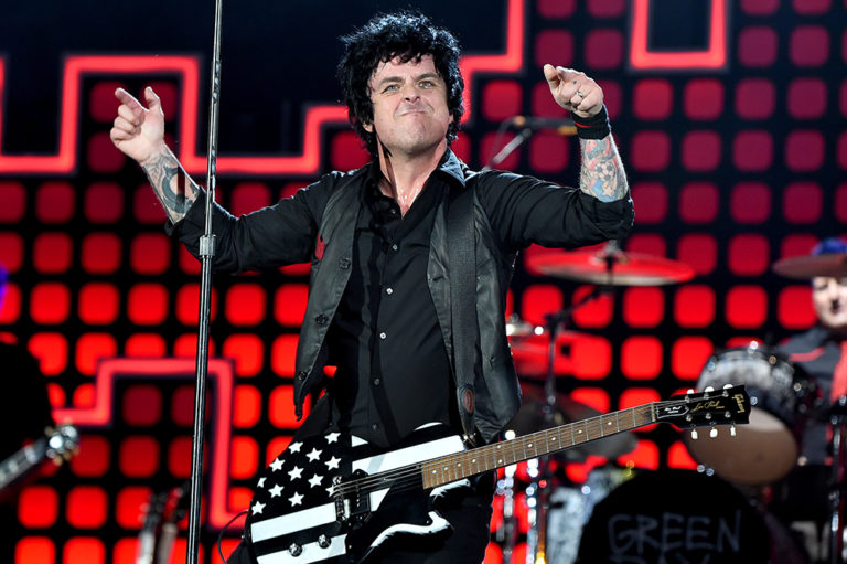 Bille Joe Armstrong Green Day