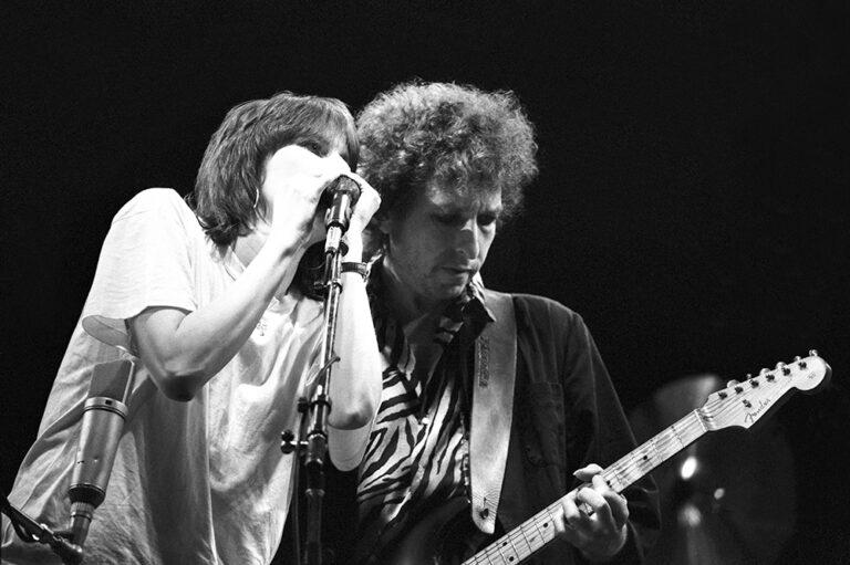 Chrissie Hynde Bob Dylan in 1984