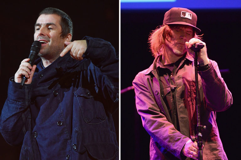 Liam Gallagher Mark Lanegan