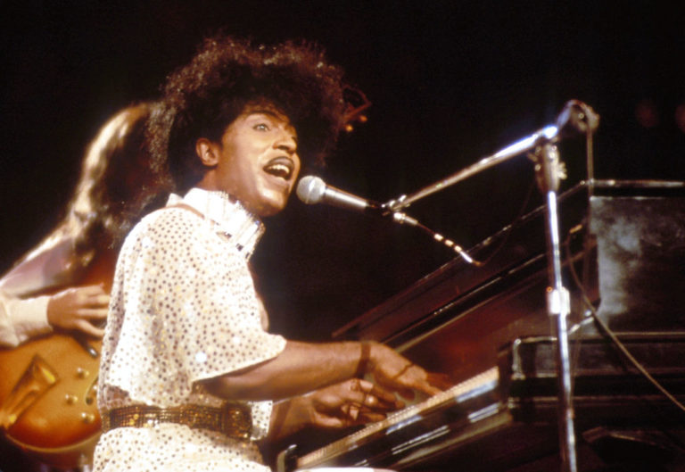 Little Richard circa 1985 in New York