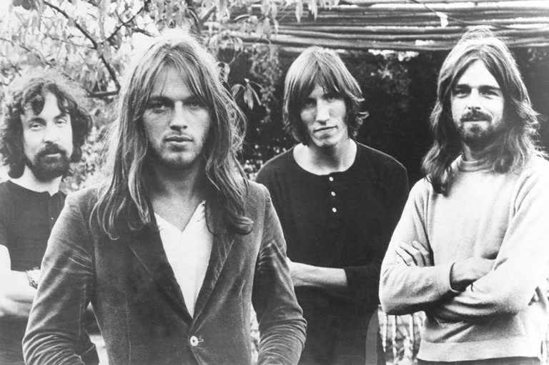 Pink Floyd 1973 Press Photo