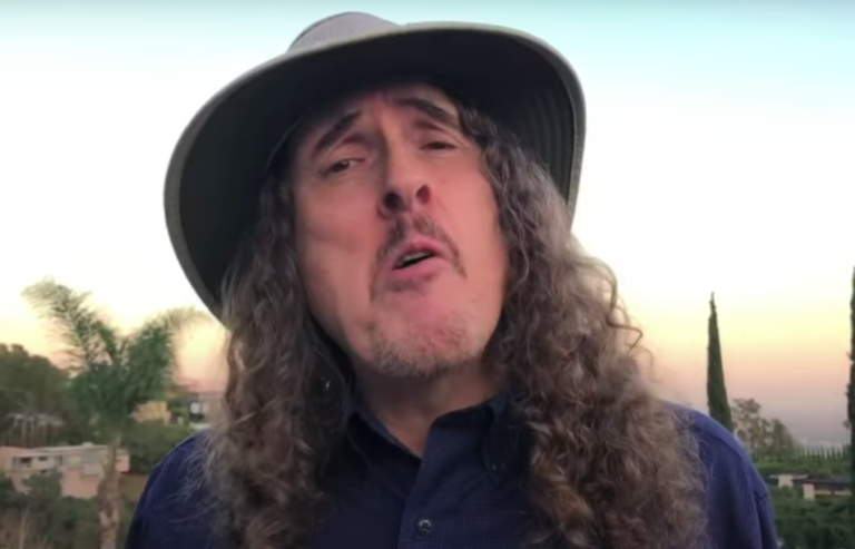 Weird Al Yankovic eat it