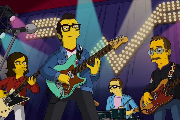 Weezer Simpsons