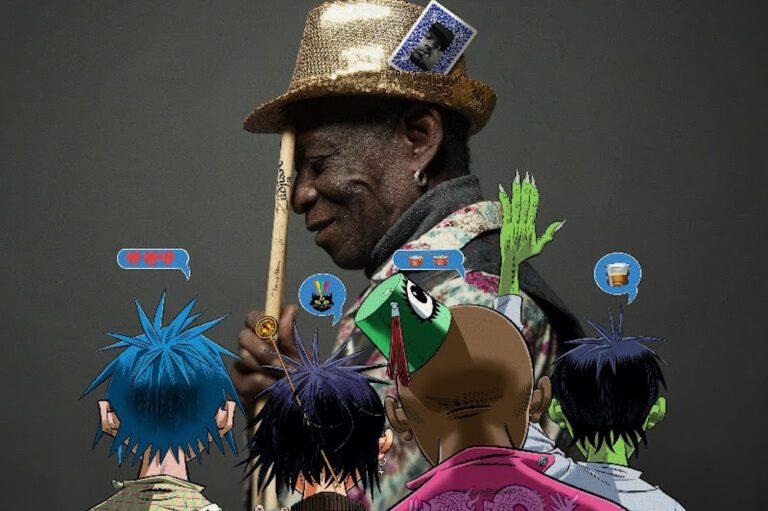 Gorillaz Tony Allen tribute