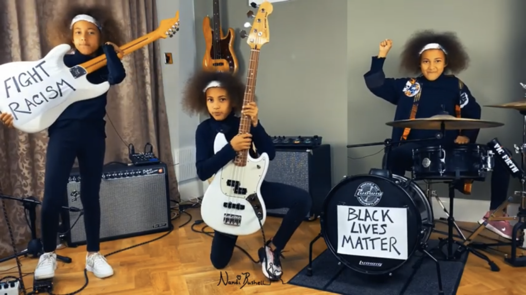 10-Year-Old Plays Rage Against The Machine in Solidarity With BLM