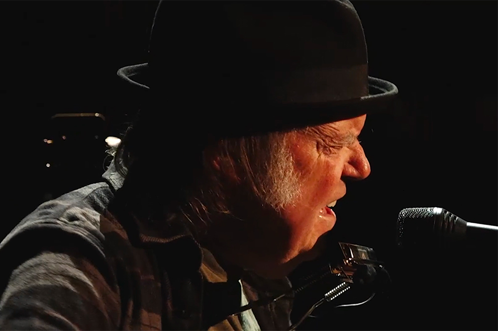 Neil Young Calls for 'New Rules for Policing'