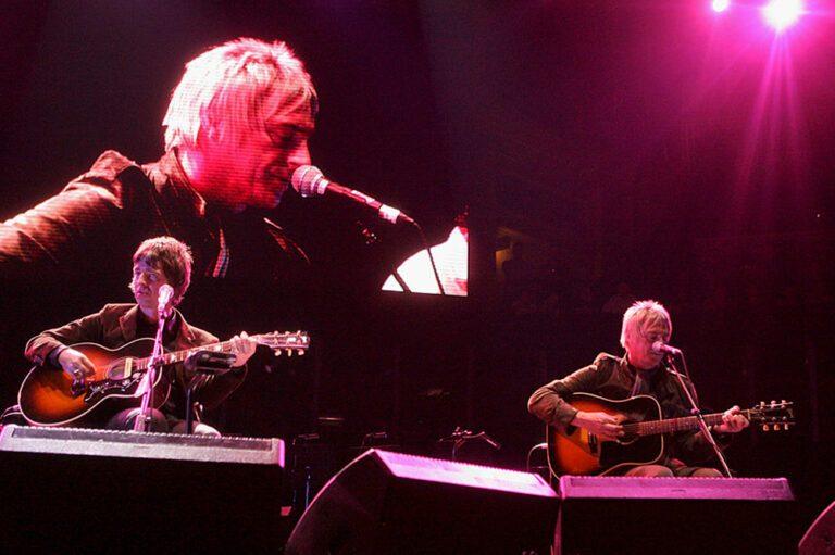 Noel Gallagher Paul Weller