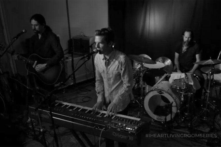 The Killers on iHeartRadio Living Room Series