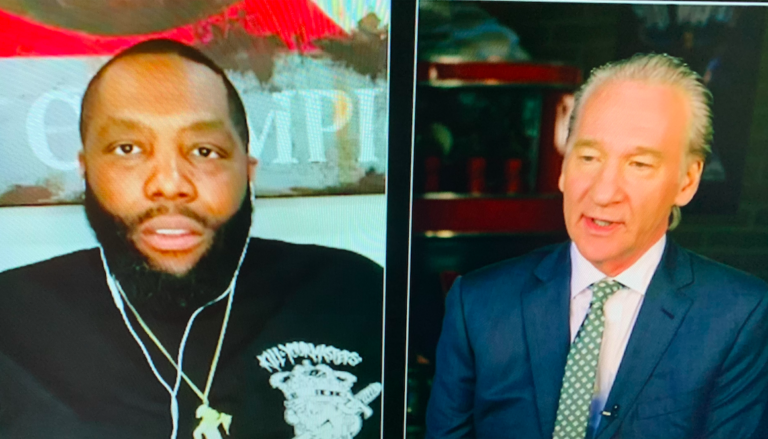 Killer Mike and Bill Maher