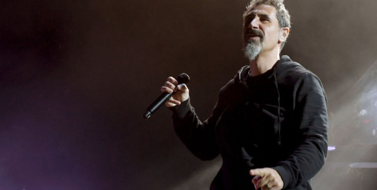 System Of A Down Perform At Glen Helen Amphitheater
