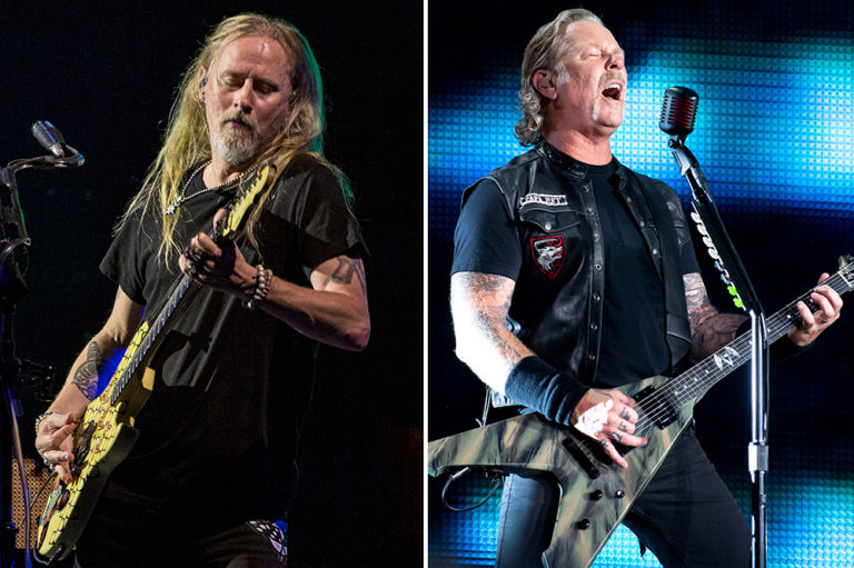 Jerry Cantrell James Hetfield