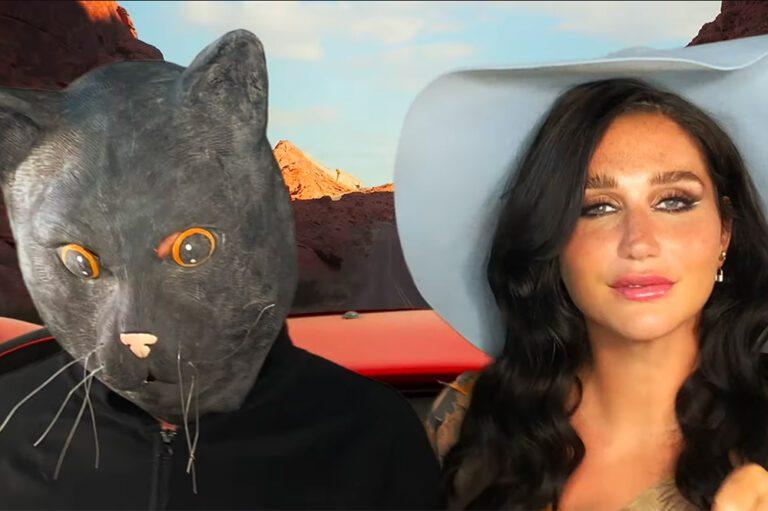 Kesha and Mr. Peep$