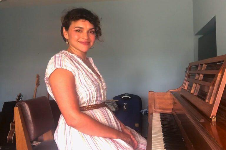 Norah Jones Playing NPR's At Home Tiny Desk series
