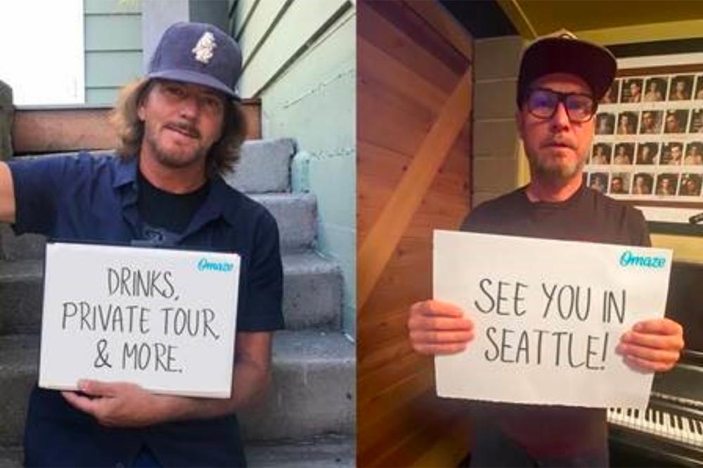Pearl Jam for Omaze