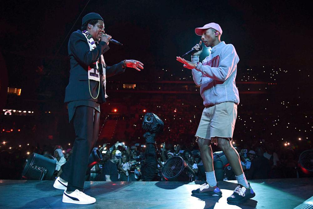 Pharrell Jay-Z at Global Citizen in Johannesburg
