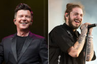Rick Astley Shares Acoustic Cover of Post Malone's 'Better Now'