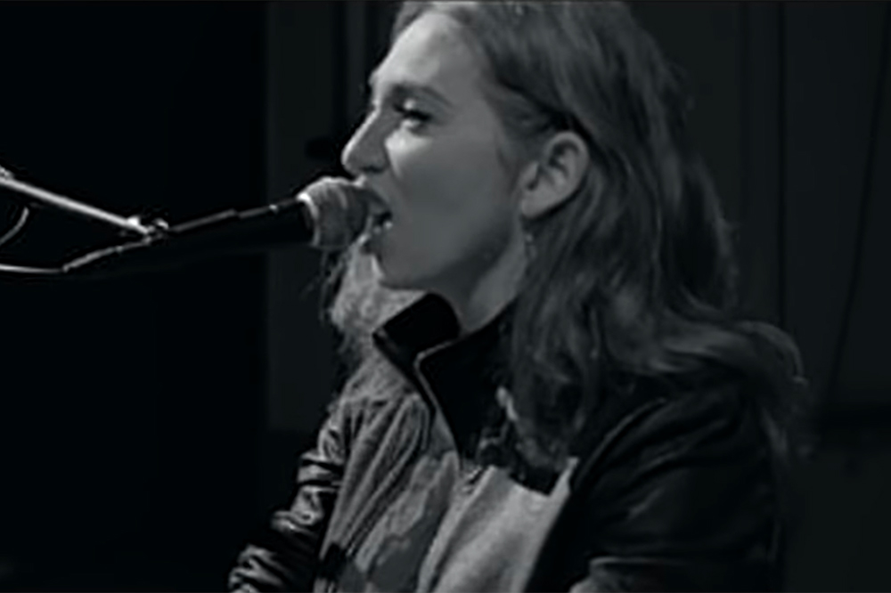 Regina Spektor at The Late Show with Stephen Colbert