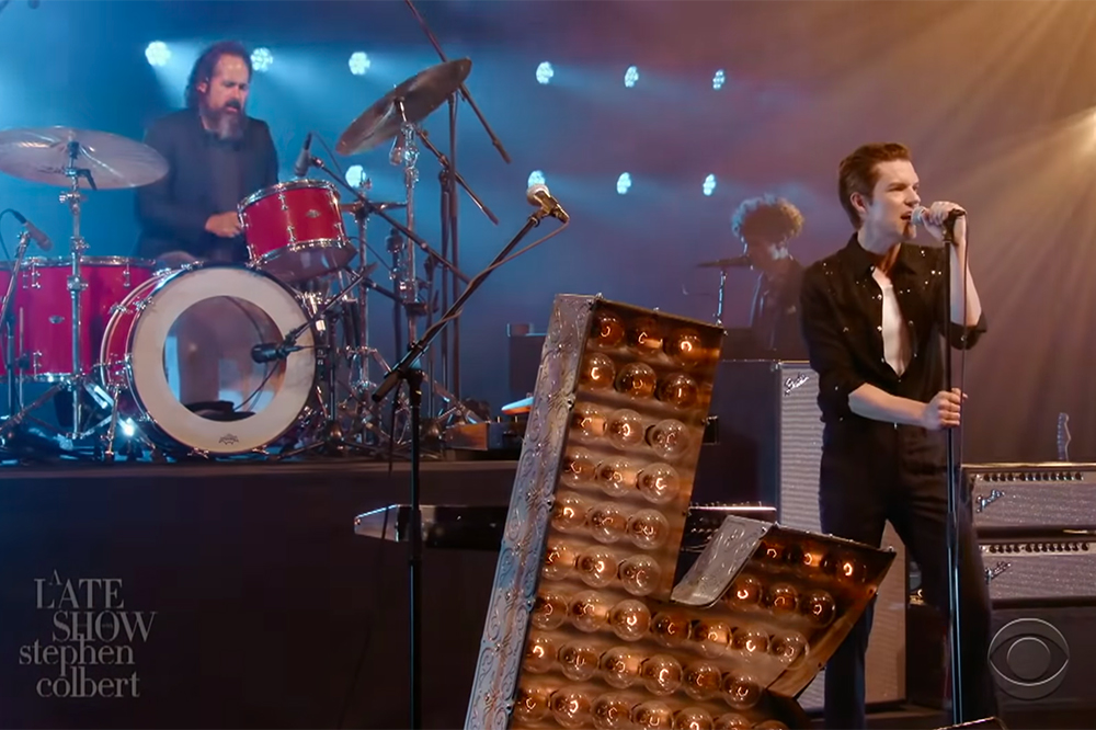 The Killers on Colbert August 2020