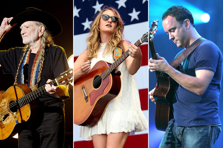 Willie Nelson Margo Price Dave Matthews