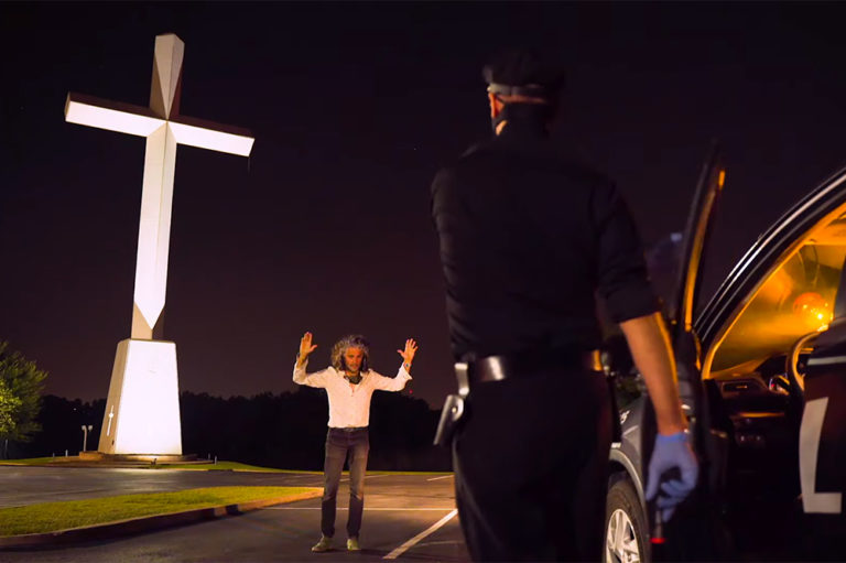"Flaming Lips' ""god and the Policeman"" video"