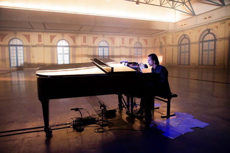 Nick Cave at Alexander Palace