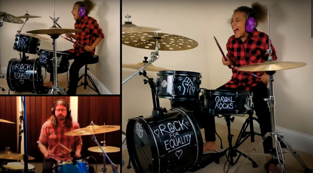 Nandi Bushell Answers Dave Grohl's Challenge, Plays Them Crooked Vultures' 'Dead End Friends'