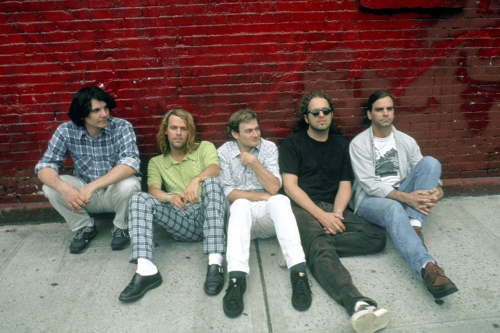 Wilco 1996 band photo