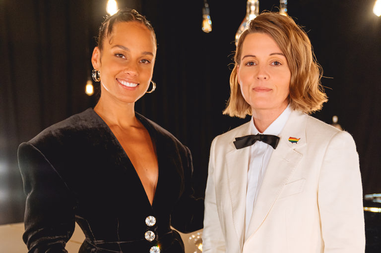 Alicia Keys and Brandi Carlile