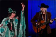 Karen O and Willie Nelson Join Forces to Cover Queen's 'Under Pressure'