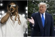 Lil Wayne Meets With President Trump, Endorses 'Platinum Plan'