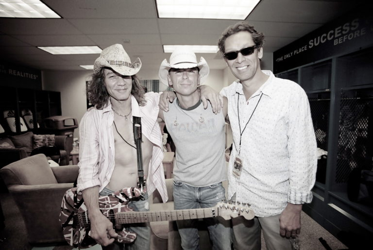 Kenny Chesney Eddie Van Halen