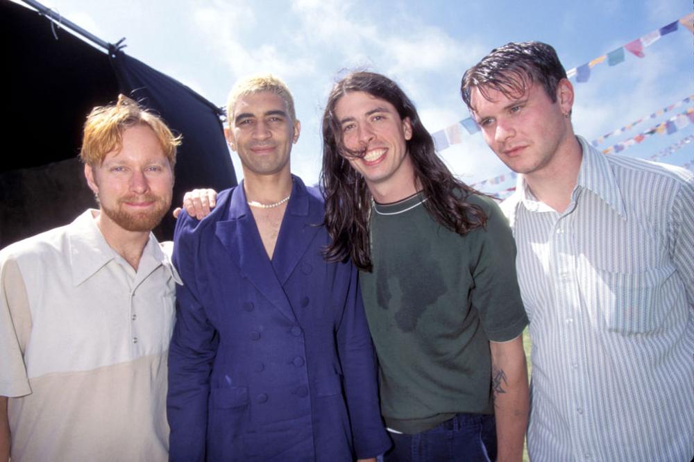 Foo Fighters in 1996