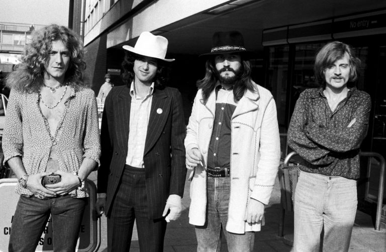 Led Zeppelin Group Portrait
