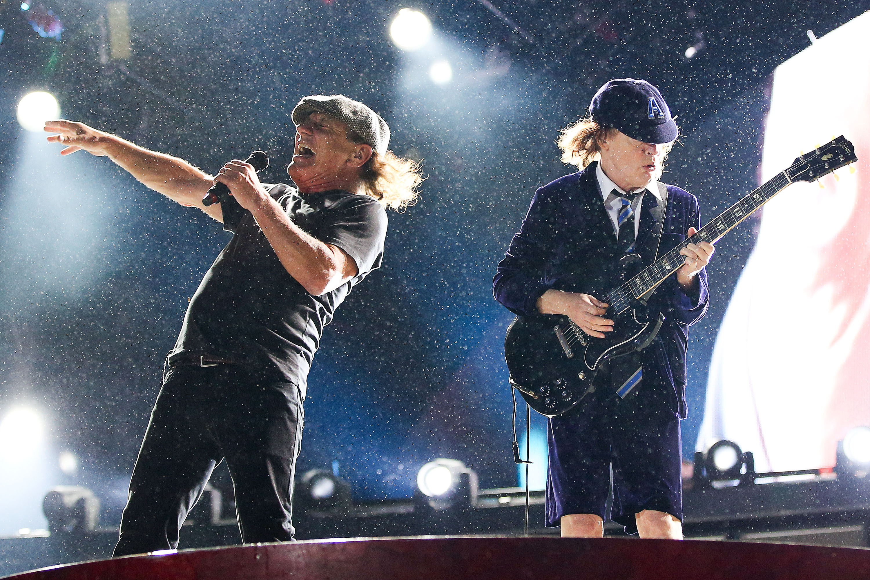 AC/DC Perform In Wellington