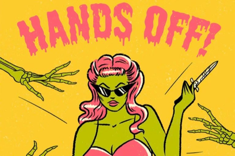 Hands Off Compilation Album Art