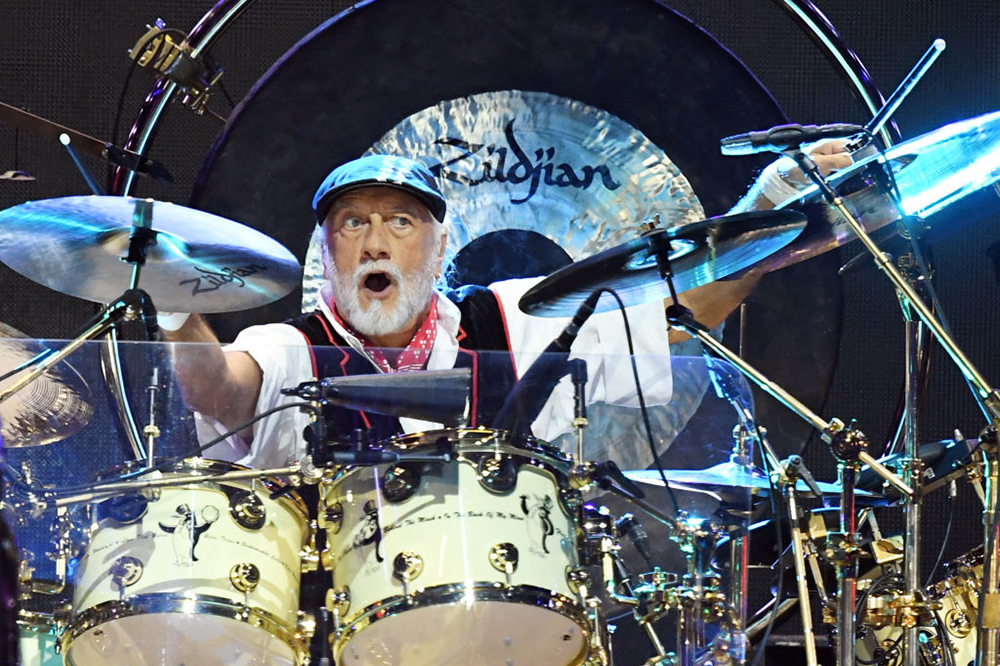 Mick Fleetwood of Fleetwood Mac