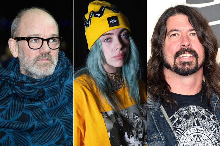 Michael Stipe Billie Eilish Dave Grohl