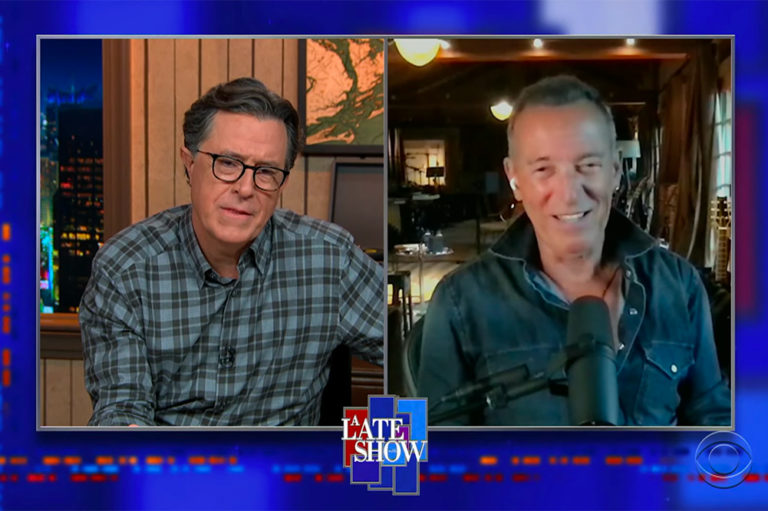 Bruce Springsteen on Colbert