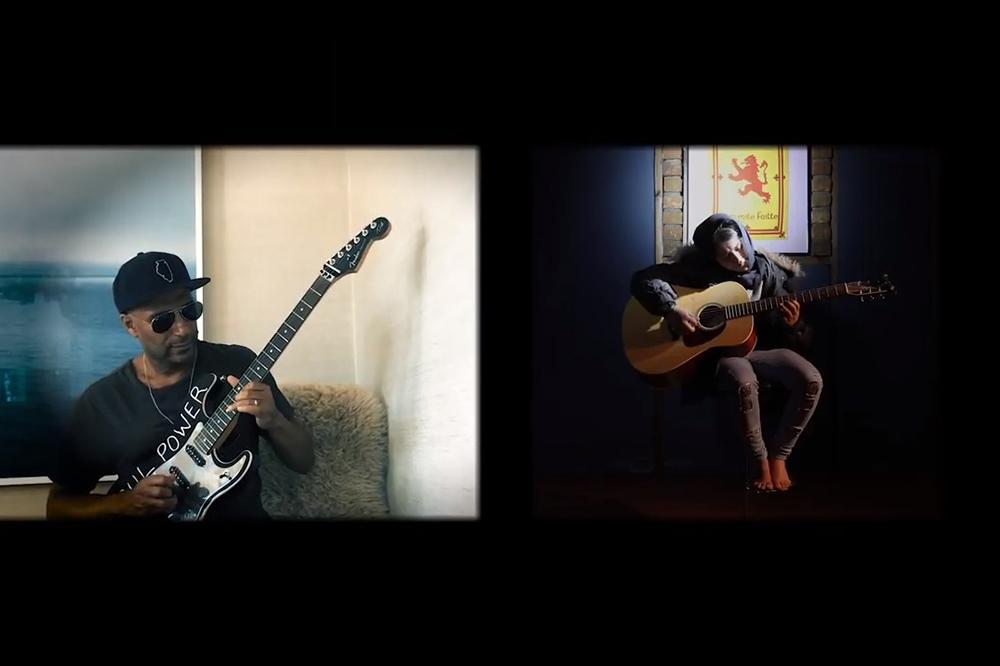 Sweet Dreams Tom Morello Girl with a Guitar