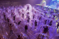 Wayne Coyne Takes <i>CBS Sunday Morning</i> Behind the Scenes of the Flaming Lips' Space Bubble Concerts