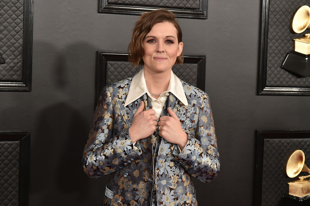 Brandi Carlile at the Grammy Awards Red Carpet