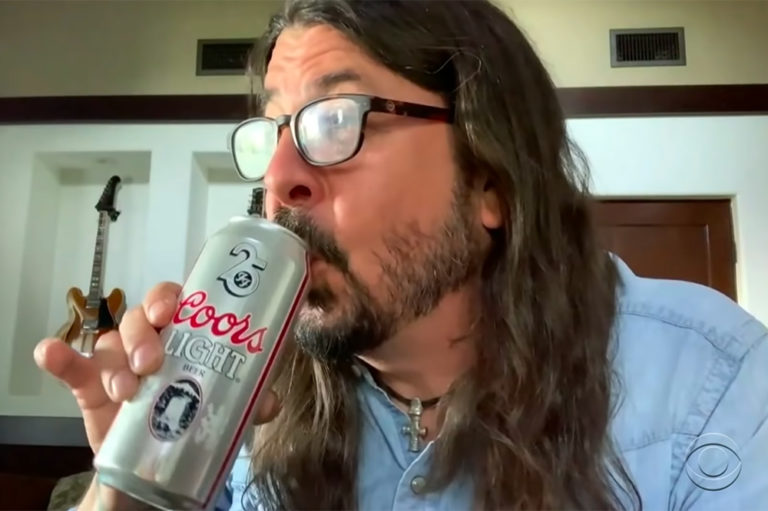 Dave Grohl Beer Colbert
