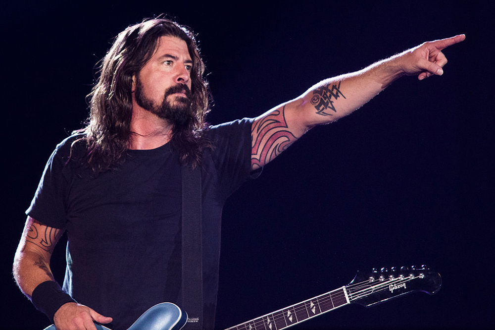 Dave Grohl Recalls Doing Mushrooms at His Mom's Holiday Party