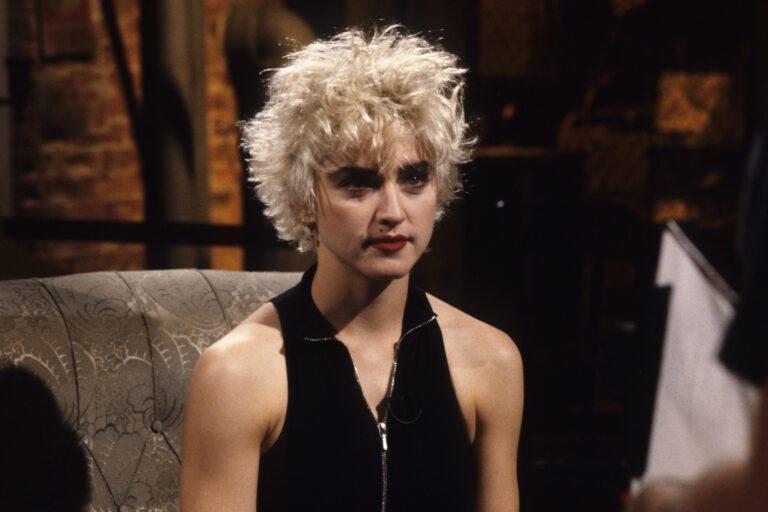 Portrait Of Madonna