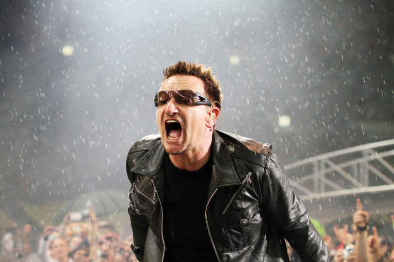 U2 Perform In Moscow