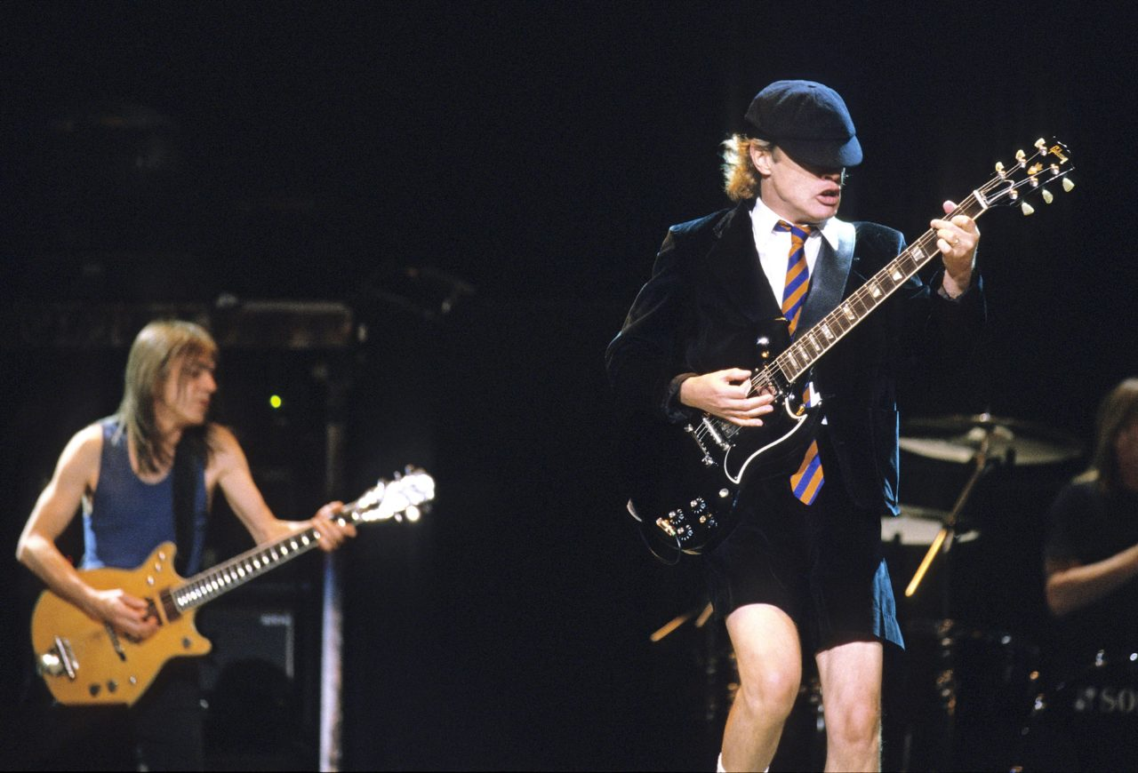 ACDC Perform in Melbourne